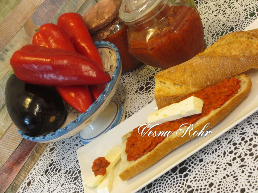 Ajvar / caviar macédonien