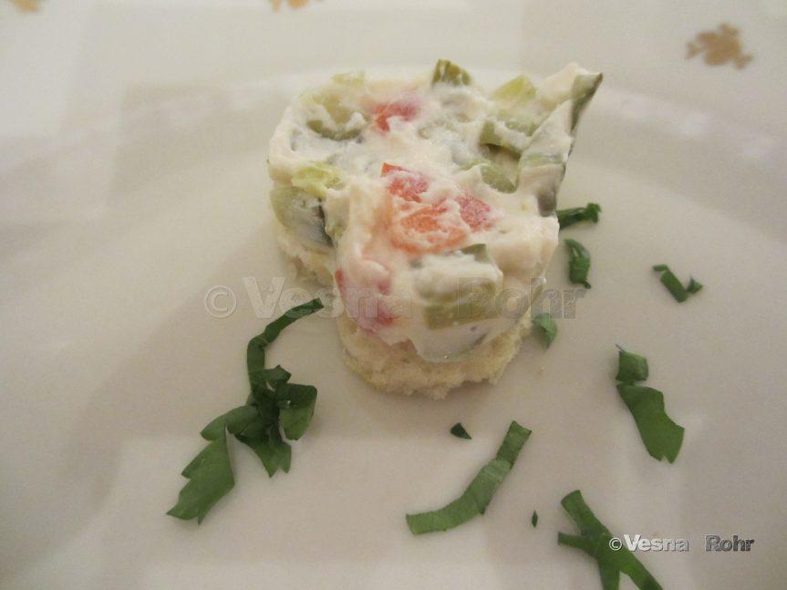 Novogodišni dekoracii za salata