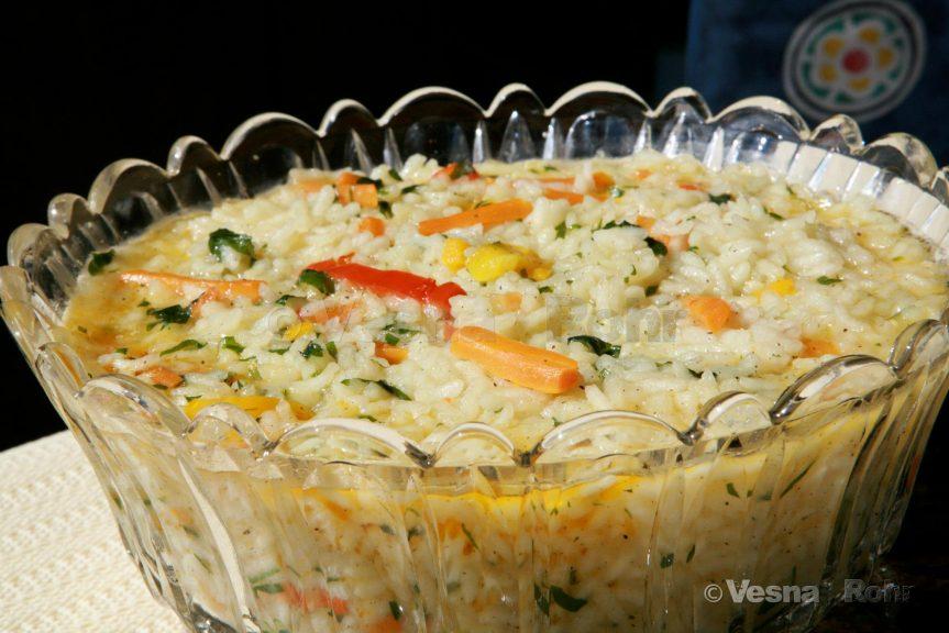 Задушен ориз