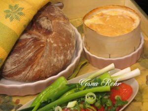Швајцарско сирење во рерна – Vacherin au four