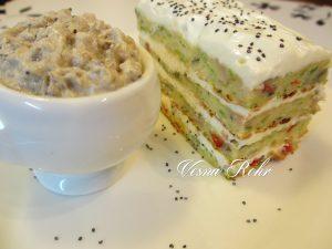 Солена торта и колачи од тиквици