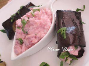 Розе ролатчиња од патлиџан