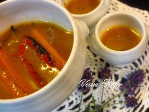 Сос со морков и пиперка